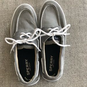 Sperry Topsider Boat Shoes (Gray)